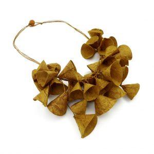 ana hagopian collares, paper jewellery