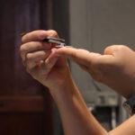 aplicación de enganche para crear un colgante